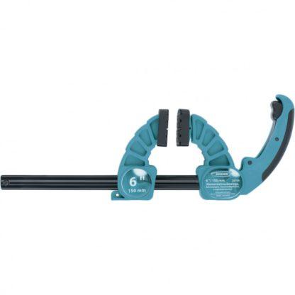 Струбцина реечная быстрозажимная, пластиковый корпус, рычажный храповой механизм, 18″/450 мм Gross