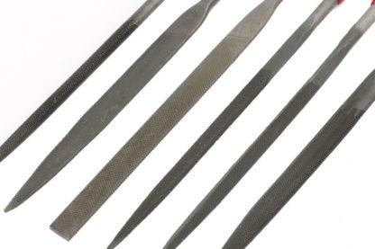 Набор надфилей, 160 х 4 мм, 6 шт, обрезиненные рукоятки Matrix