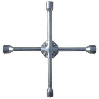 Ключ-крест баллонный, 17 х 19 х 21 мм, под квадрат 1/2, усиленный, толщина 16 мм Matrix Professional