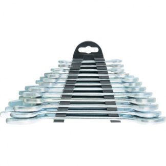 Набор ключей рожковых, 6 х 32 мм, 12 шт, хромированные Sparta
