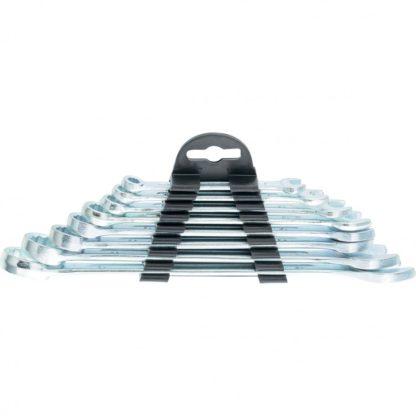 Набор ключей комбинированных, 6-19 мм, хромированные, 8 шт, Sparta