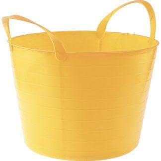 Ведро гибкое сверхпрочное, 14 л, желтое, Россия Сибртех