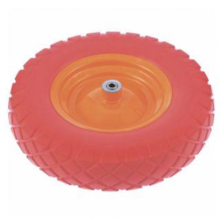 Колесо полиуретановое 4.80/4.00-8, длина оси 90 мм, подшипник 12 мм PalisaD