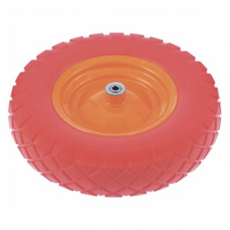 Колесо полиуретановое 4.80/4.00-8, длина оси 90 мм, подшипник 20 мм PalisaD