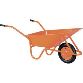 Тачка садово-строительная ТСО-02/01, крашенная, 1 цельнолитое колесо, 120 кг, 90 л Россия