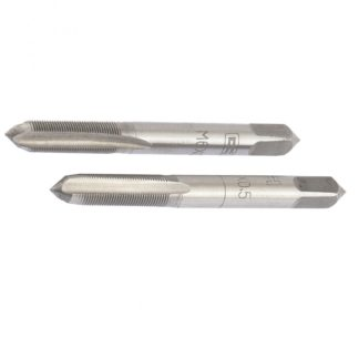 Метчик ручной М6 х 0,5 мм, комплект из 2 шт Сибртех