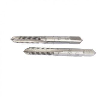 Метчик ручной М6 х 1 мм, комплект из 2 шт Сибртех