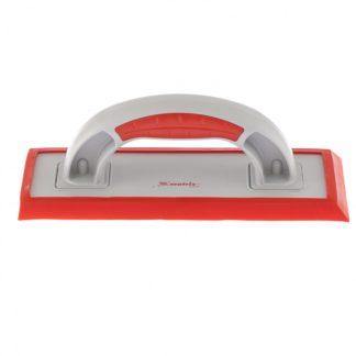 Терка пластмассовая для эпоксидной затирки, сменное резиновое покрытие, 250 x 95 мм, двухкомпонентная ручка Matrix