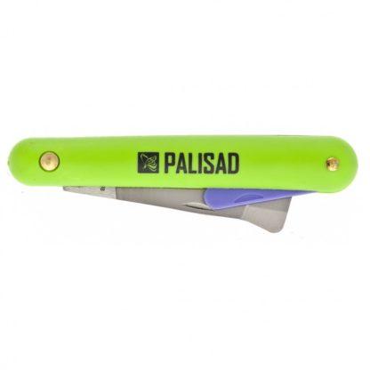 Нож садовый, 195 мм, складной, копулировочный, пластиковая рукоятка, пластик. расщепитель Palisad