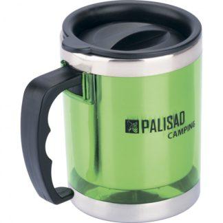 Термокружка с крышкой-поилкой в пластиковом корпусе, 300 мл Camping Palisad