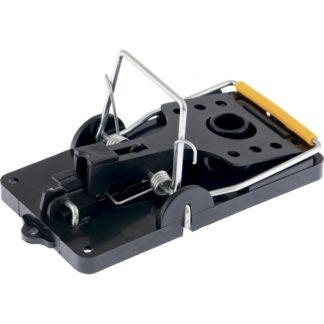 Мышеловка пластиковая открытая, металлический механизм, малая, 100 х 45 мм, 2 шт Сибртех
