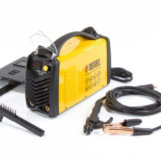 Аппарат инверторный дуговой сварки ММА-220ID, 220 А, ПВР 60%, диаметр электрода 1,6-5 мм, провод 2м Denzel