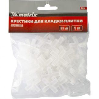 Крестики, 6,0 мм, для кладки плитки, 75 шт Matrix