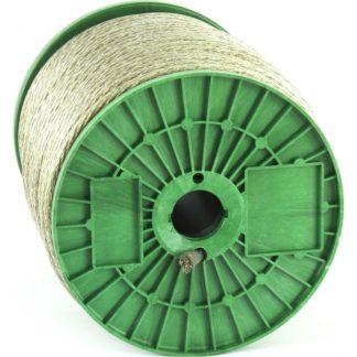 Трос металлополимерный прозрачный ПР-8.0, толщина 8,0 мм, катушка 100 метров Россия Сибртех