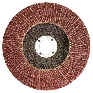 Круг лепестковый торцевой КЛТ-2, зернистость Р 80, 125 х 22,2 мм