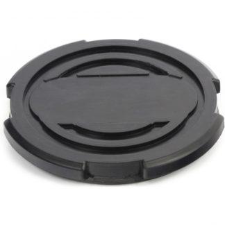 Резиновая опора для подкатного домкрата универсальная, D 100 мм, D 90, H 12 мм Matrix