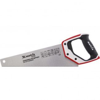 Ножовка по дереву для точных пильных работ, 350 мм, каленый зуб 3D, 14 TPI, трехкомпонентная рукоятка, Pro Matrix