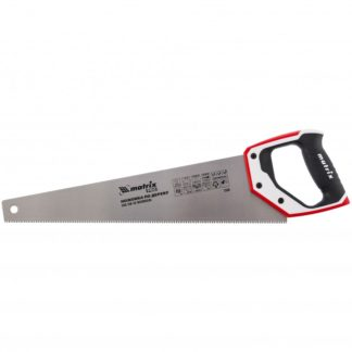 Ножовка по дереву, 450 мм, каленый зуб 3D, 7-8 TPI, трехкомпонентная рукоятка, Pro Matrix