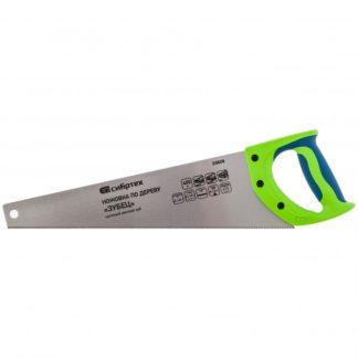 """Ножовка по дереву""""Зубец"""" для точных пильных работ, 400 мм, каленый зуб 2D, 14 TPI, двухкомпонентная рукоятка Сибртех"""