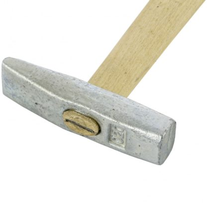 Молоток слесарный, 200 г, квадратный боек, деревянная рукоятка Россия