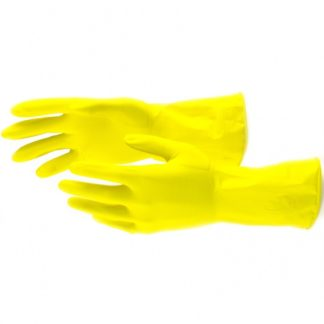 Перчатки хозяйственные латексные, S Сибртех