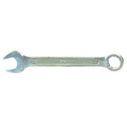 Ключ комбинированный, 22 мм, оцинкованный (КЗСМИ) Россия