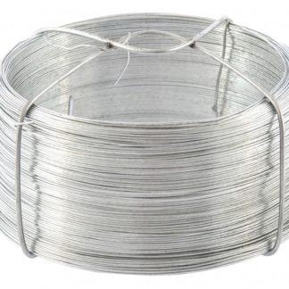 Проволока стальная, оцинкованная 0,5 мм, длина 200м Сибртех