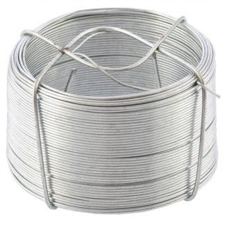 Проволока стальная, оцинкованная 0,9 мм, длина 50 м Сибртех