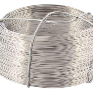 Проволока из нержавеющей стали 0,5 мм, длина 200м Сибртех