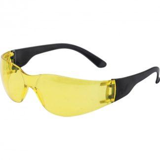 Очки защитные открытые, поликарбонатные, желтые ОЧК202 (0-13022) Россия