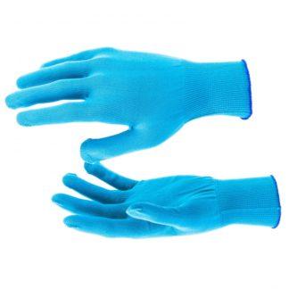 Перчатки Нейлон, 13 класс, цвет ультрамарин, XL Россия