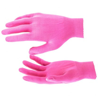 Перчатки Нейлон, 13 класс, цвет розовая фуксия, L Россия