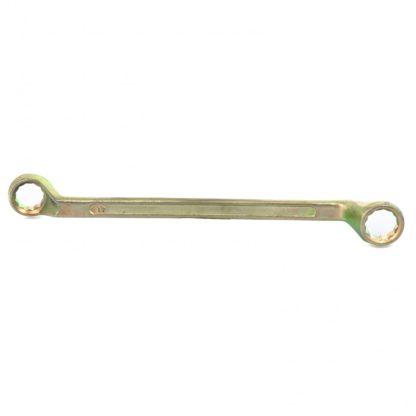 Ключ накидной, 17 х 19 мм, желтый цинк Сибртех