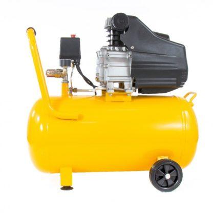 Компрессор пневматический Denzel 1,5 кВт, 206 л/мин, 50 л