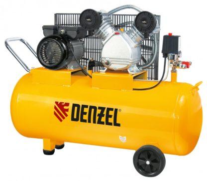 Компрессор пневматический Denzel 2,2 кВт, 370 л/мин, 100 л