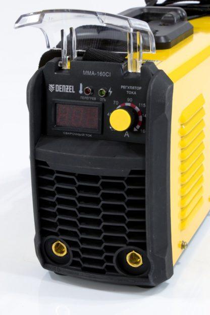 Аппарат инверторный для дуговой сварки ММА-160CI Denzel