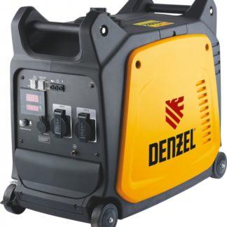 Генератор инверторный Denzel GT-2600i, X-Pro 2.6 кВт, 220 В, цифровое табло, бак 7.5 л, ручной старт
