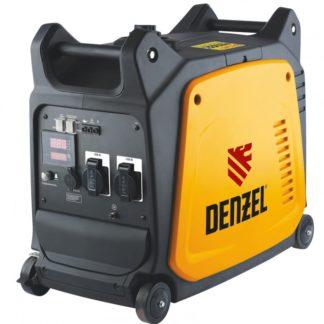 Генератор инверторный Denzel GT-3500i, X-Pro 3.5 кВт, 220 В, цифровое табло, бак 7.5 л, ручной старт