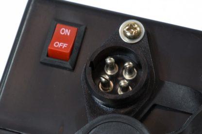Лебедка автомобильная электрическая 4,5 т, 12 В Denzel