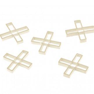 Крестики 5 мм, для кладки плитки, 100 шт Сибртех