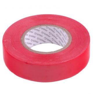 Изолента ПВХ, 19 мм х 20 м, красная, 150 мкм Matrix
