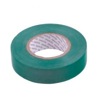 Изолента ПВХ, 19 мм х 20 м, зеленая, 150 мкм Matrix