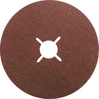 Круги фибровые 5 шт, Р 60, 125 х 22 mm Matrix