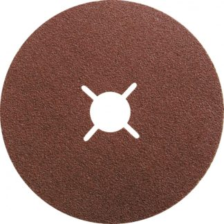 Круги фибровые 5 шт, Р 80, 115 х 22 mm Matrix