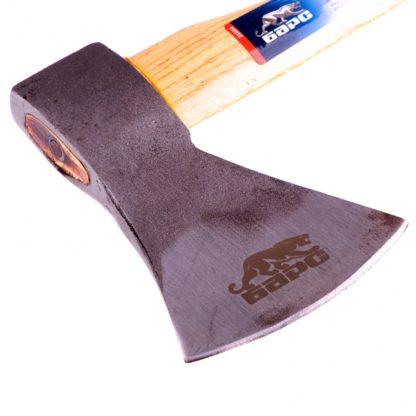 Топор плотницкий, кованый, деревянная рукоятка, 800 г, пескоструйное покрытие полотна Барс