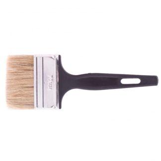 "Кисть флейцевая ""Стандарт"", 70 х 6 мм, натуральная щетина, пластиковая ручка Сибртех"