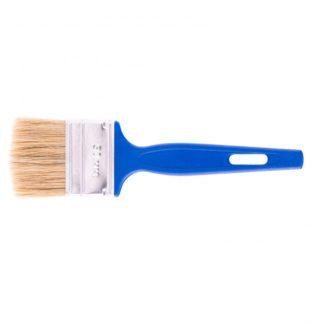 """Кисть флейцевая """"Эксперт"""", 50 х 6 мм, натуральная щетина, пластиковая ручка Сибртех"""