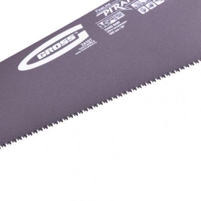 """Ножовка по дереву """"Piranha"""", 500 мм, 11-12 TPI, зуб-3D, каленый зуб, тефлоновое покрытие полотна, двухкомпонентная рукоятка Gross"""