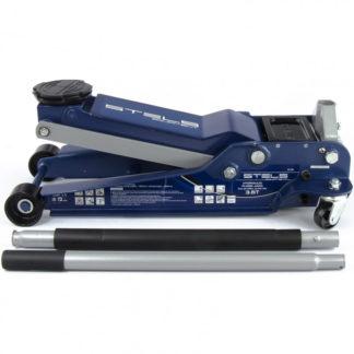 Домкрат гидравлический подкатной, быстрый подъем, 3,5т, Low Profile Quick, 100-565 мм, профессиональный Stels