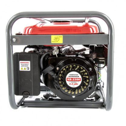 Генератор бензиновый Kronwerk KB 2500, 2.4 кВт, 220 В/50 Гц, 15 л, ручной старт
